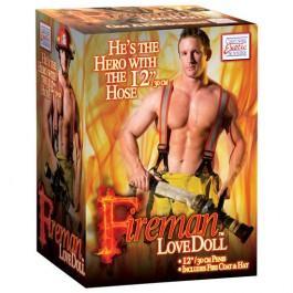 bombero hinchable