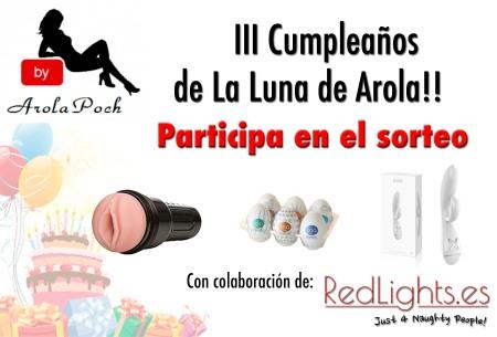 3r cumpleaños Arola