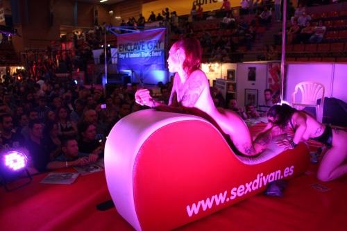 Show foofetish en el Salón Erótico de Barcelona 2015